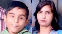 Ayush & Mother Ritu